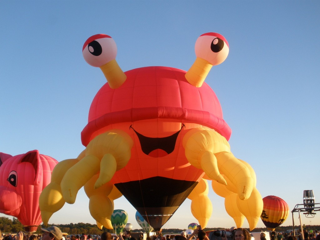 crab balloon